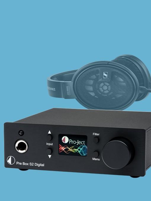 Fejhallgató erősítők