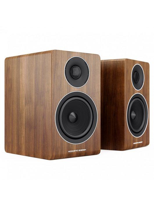 Acoustic Energy AE300 állványos hangfal, dió színben