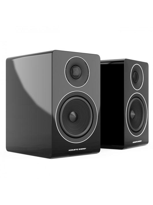 Acoustic Energy AE300 állványos hangfal, lakk fekete