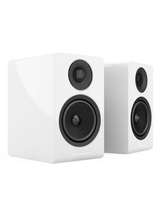 Acoustic Energy AE300 állványos hangfal, lakk fehér