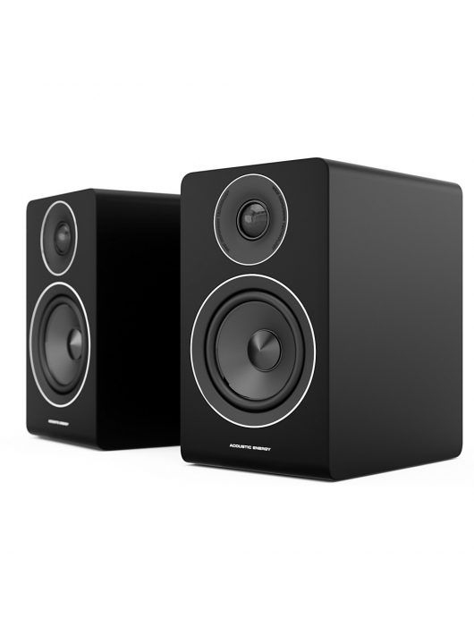 Acoustic Energy AE100 selyemfényű fekete szín