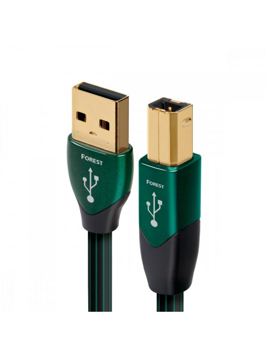 AudioQuest Forest USB A-B kábel 1.5 méter