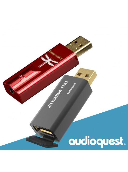 AudioQuest DragonFly Red - USB DAC+előer.+fejh. erősítő
