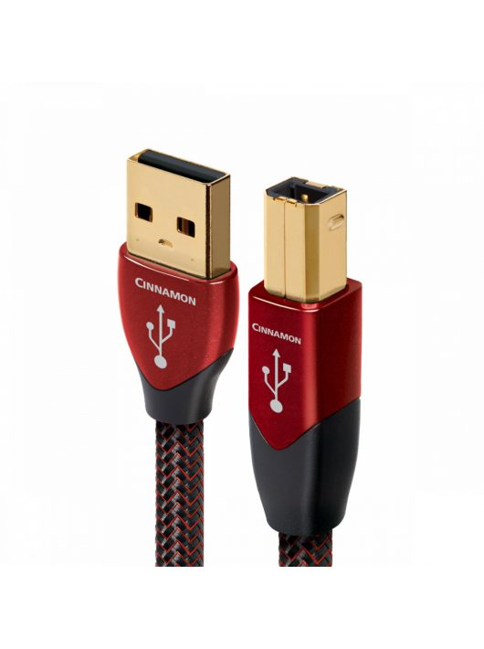 AudioQuest Cinnamon USB A-B kábel - 1,5 m