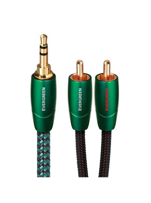 AudioQuest Evergreen 3,5mm Jack - RCA kábel 0,6 méter
