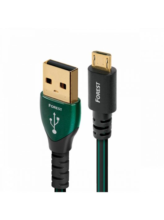 AudioQuest Forest USB A - Micro B kábel 1.5 méter (Android)