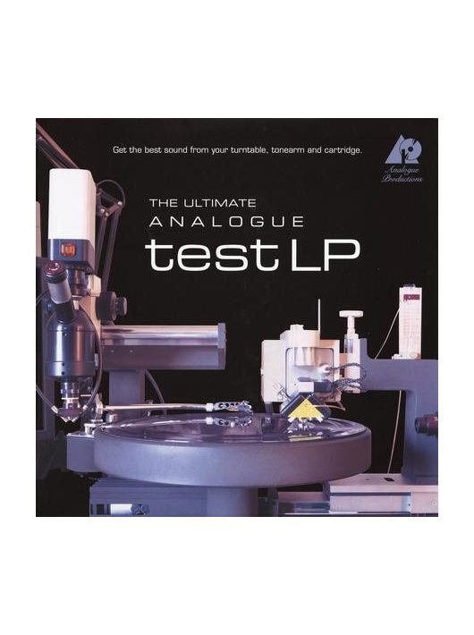 Analogue Productions - The Ultimate Analogue Test LP  (200 gram)