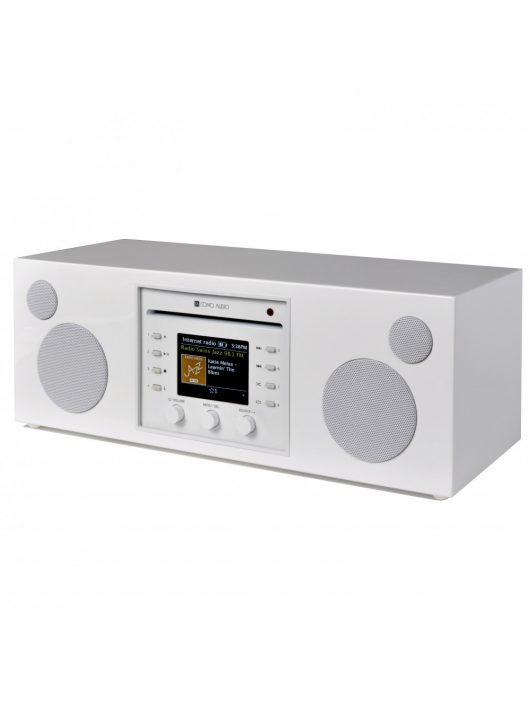 Como Audio Musica WiFi, multi-room hangszóró CD lejátszóval, lakk fehér