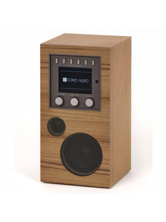 Como Audio Amico hordozható WiFi, multi-room hangszóró, teak fa