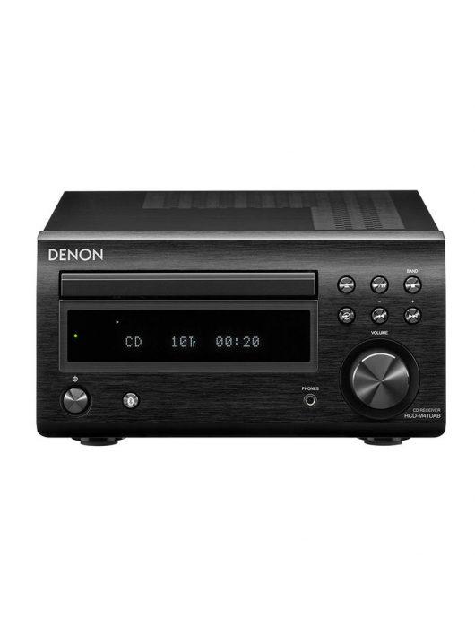 Denon RCD-M41 Sztereó CD-rádióerősítő /fekete/