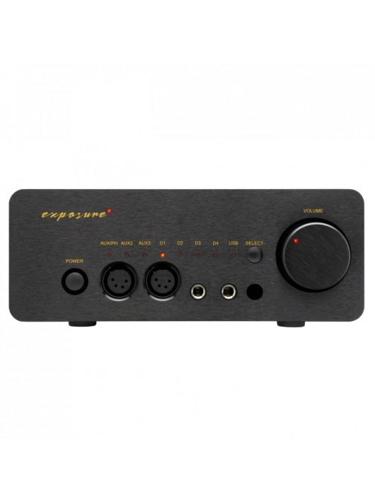 Exposure XM HP fejhallgató erősítő fekete színben