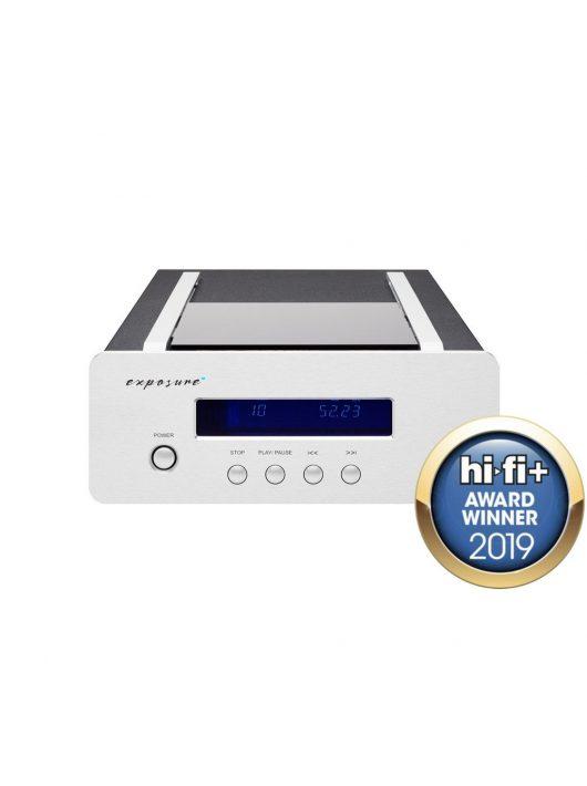 Exposure XM CD - audiofil asztali CD játszó /Ezüst/