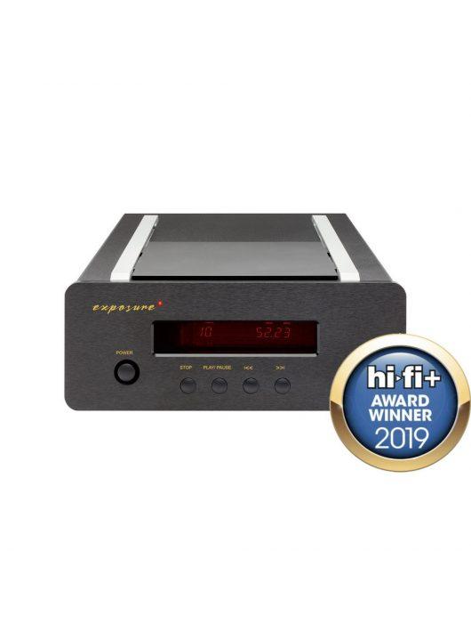 Exposure XM CD - audiofil asztali CD játszó /fekete/
