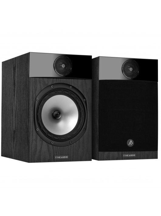 Fyne Audio F301 hangfalpár polcra, állványra /Fekete kőris/