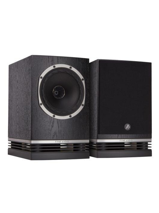 Fyne Audio F500 hangfalpár - polcra, állványra /Fekete tölgy/
