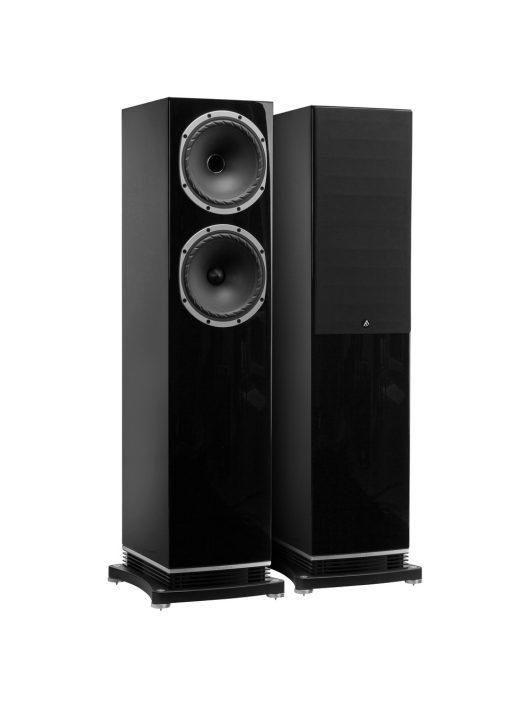 Fyne Audio F502 hangfalpár lakk fekete színben