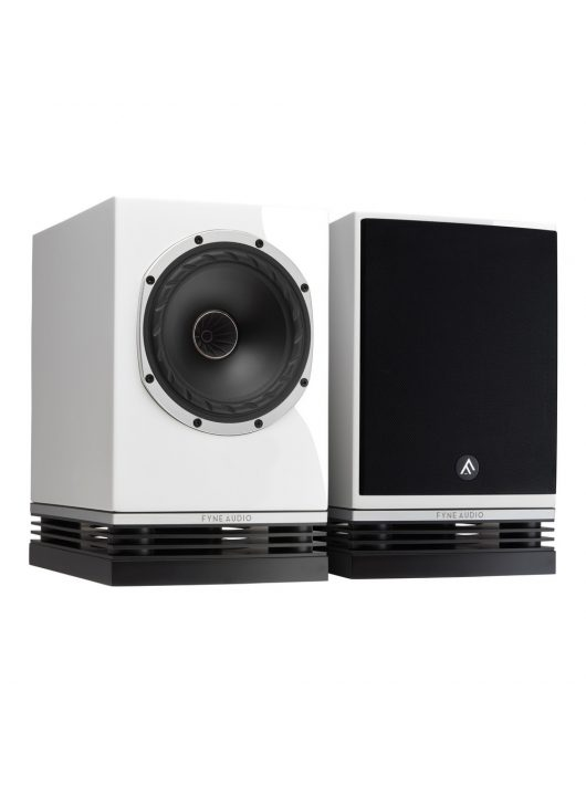 Fyne Audio F500 hangfalpár - polcra, állványra /Lakk fehér/