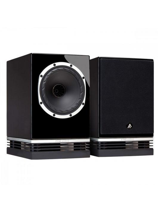 Fyne Audio F500 hangfalpár - polcra, állványra /Lakk fekete/