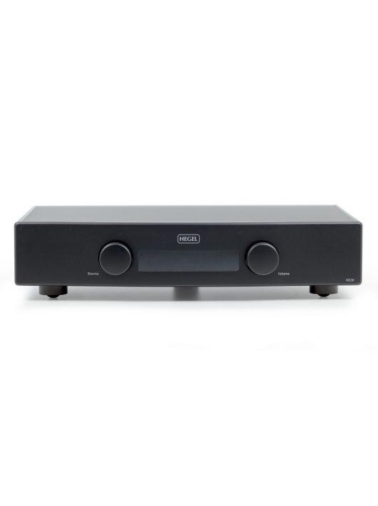 HEGEL HD30 High-end DAC és hálózati lejátszó /fekete/- bontott csomagolású