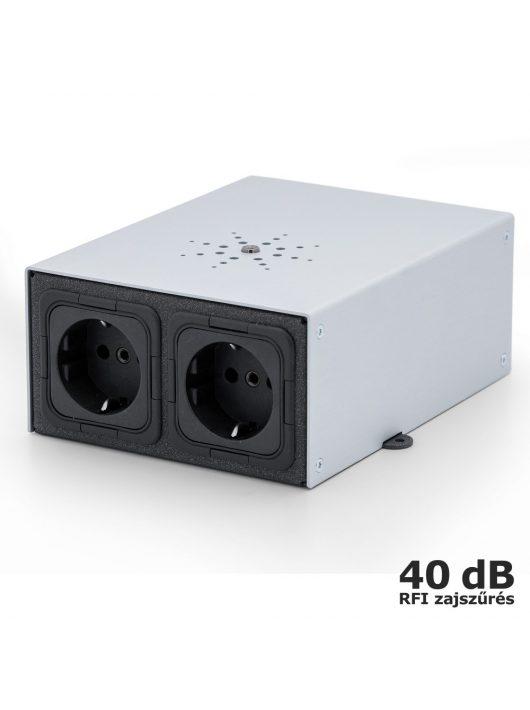 IsoTek EVO3 Mini Mira - tápelosztó és szűrő /Ezüst/