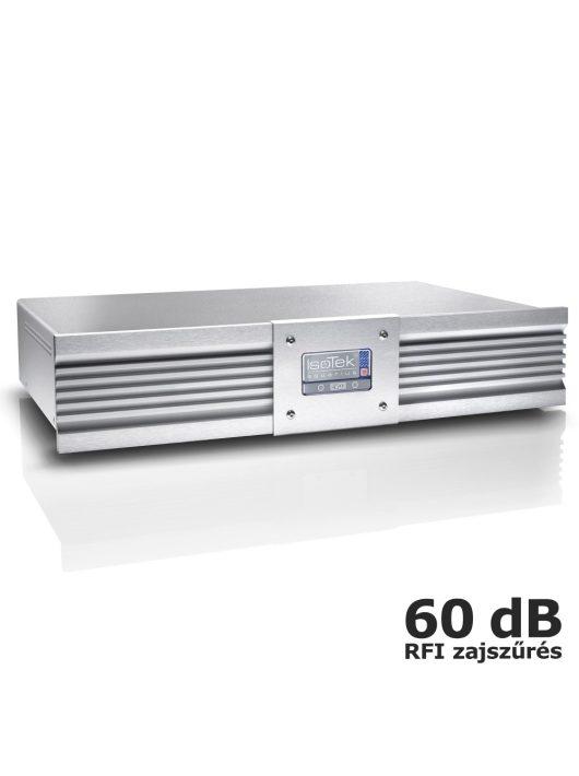 IsoTek EVO3 Aquarius - hálózati tápelosztó és szűrő + IsoTek EVO3 Premier hálózati kábel /Ezüst/