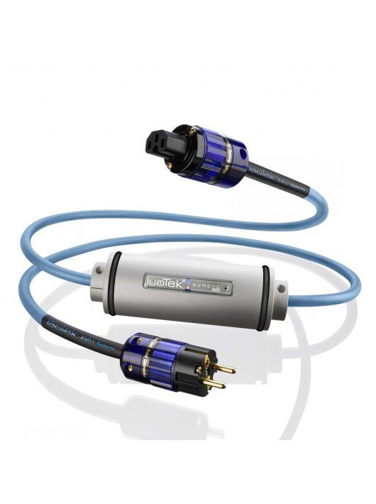 IsoTek EVO3 Syncro - hálózati DC zavar szűrő + EVO3 Optimum tápkábel (2 m)