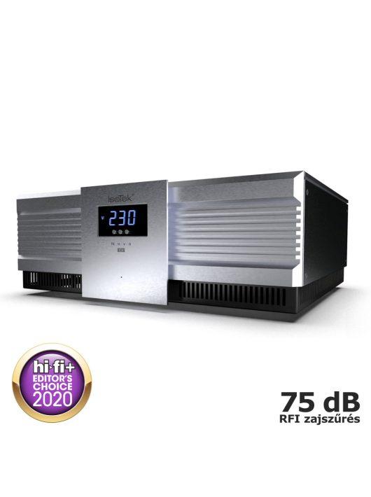 IsoTek EVO3 Nova - high-end elosztó és tápkondicionáló /Ezüst/