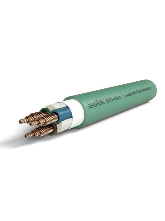 IsoTek EVO3 Initium - hálózati tápkábel, szereletlen, folyóméterben