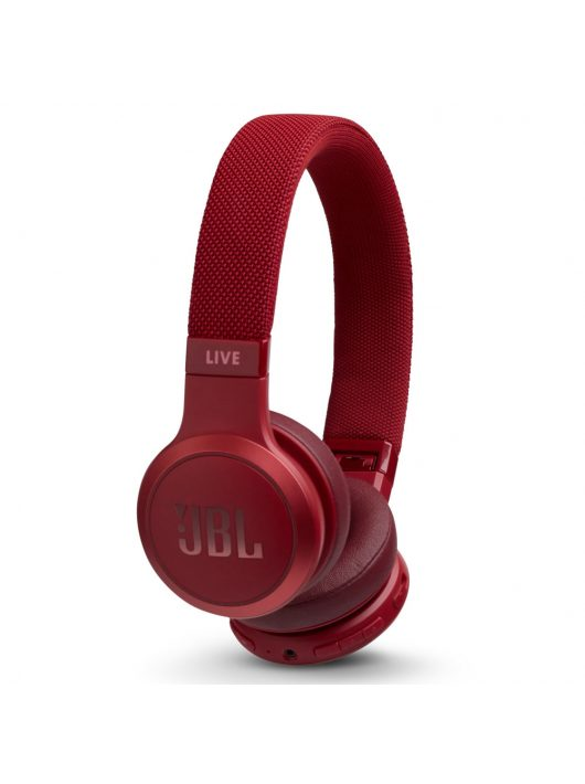 JBL LIVE 400BT bluetooth fejhallgató /Piros/