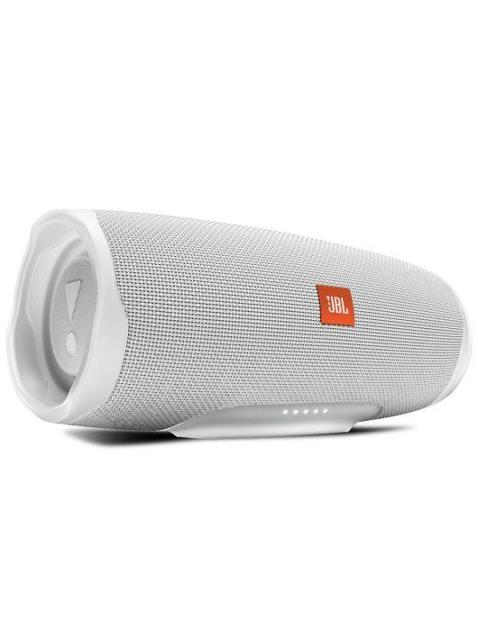 JBL CHARGE 4 vízálló hordozható Bluetooth hangszóró /(WHITE) FEHÉR/