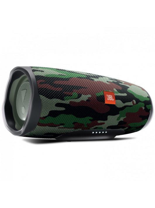 JBL CHARGE 4 vízálló hordozható Bluetooth hangszóró, squad