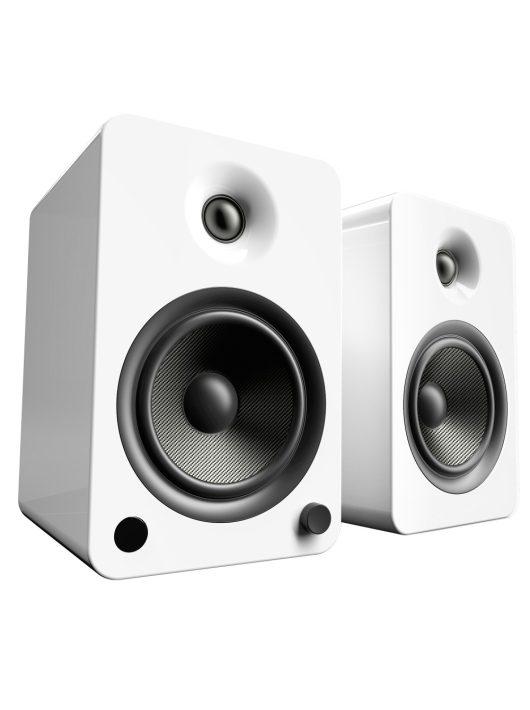Kanto Audio YU6 Aktív Bluetooth hangfal /Lakk fehér/
