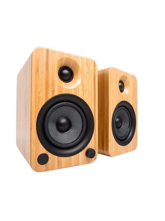 Kanto Audio YU4 Aktív Bluetooth hangfal /Bambusz/