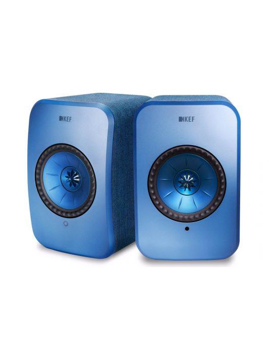 KEF LSX vezeték nélküli, aktív hangsugárzó /Kék/