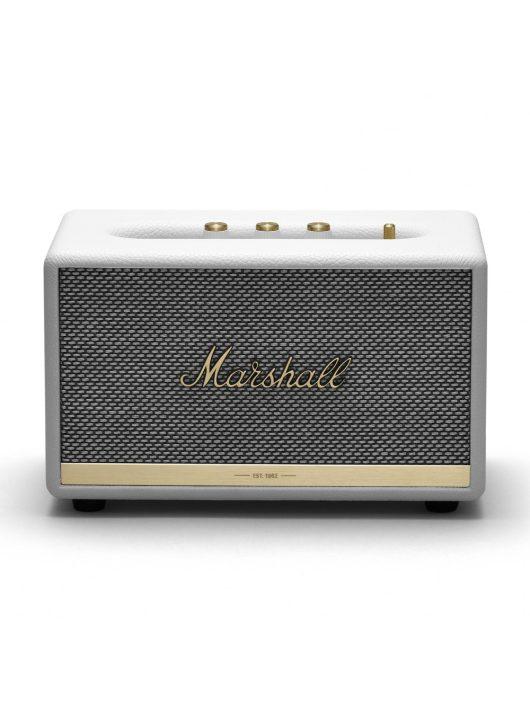 Marshall Acton II Bluetooth hangszóró (fehér színben)