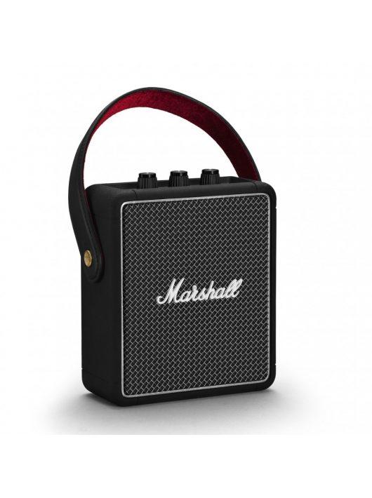 Marshall Stockwell II Bluetooth hangszóró, fekete