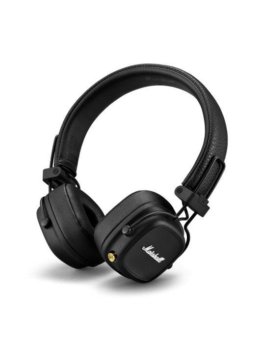 Marshall Major IV Bluetooth fejhallgató /Fekete/