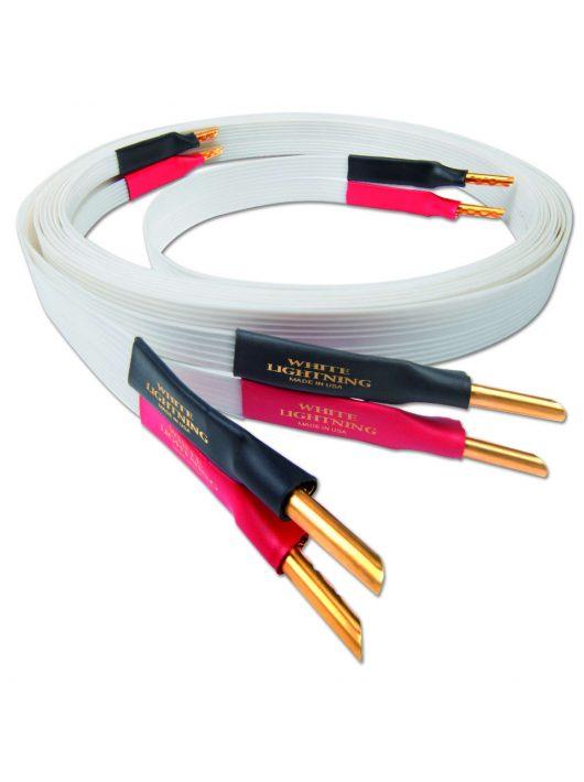 Nordost White Lightning hangfalkábel singled wired /2.5 méter Z banán dugó/