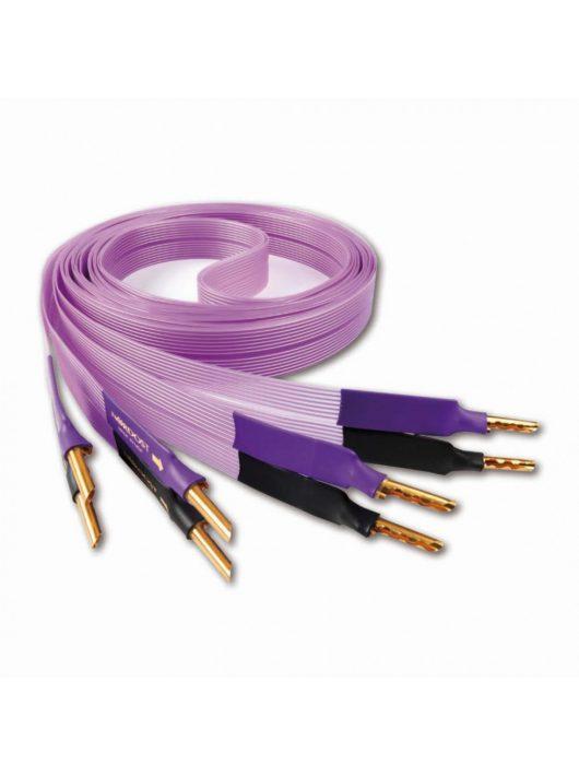 Nordost Purple Flare hangfalkábel singled wired /2,5 méter Z banán dugó/