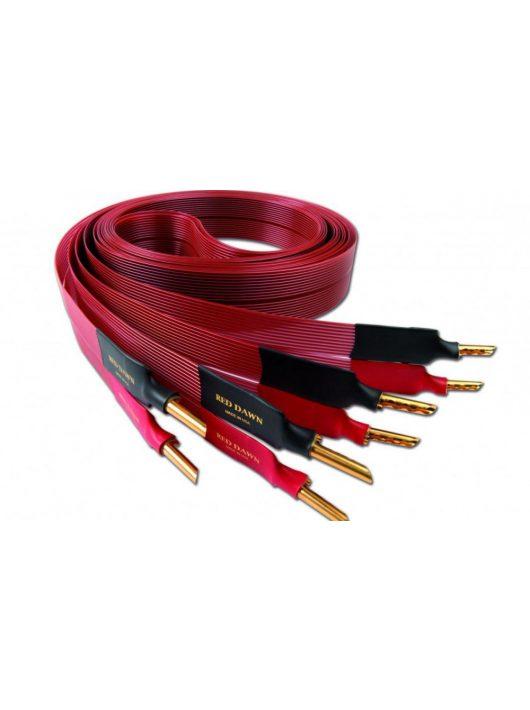 Nordost Red Dawn LS hangfalkábel singled wired /2,5 méter Z banán dugó/