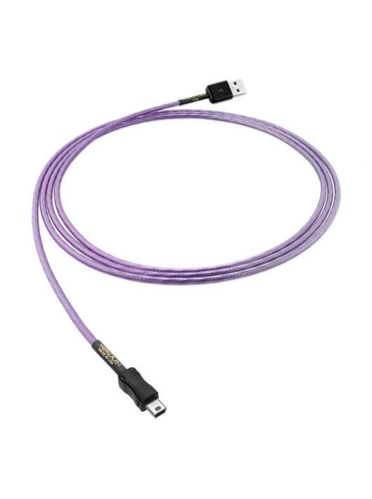 Nordost Purple Flare USB 2.0 kábel /USB A- USB mini B/ 1 méter