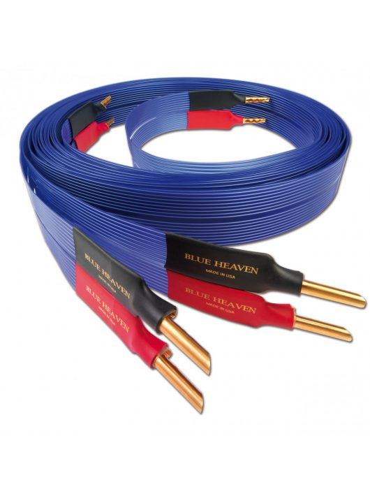 Nordost Blue Heaven LS hangfalkábel single wired /2.5 méter Z banán dugó/