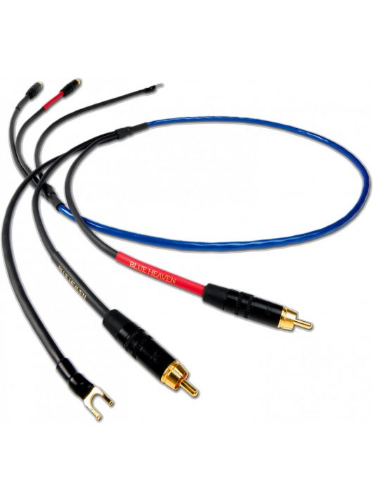 Nordost Blue Heaven LS hangkar összekötő kábel / DIN - RCA csatlakozó/