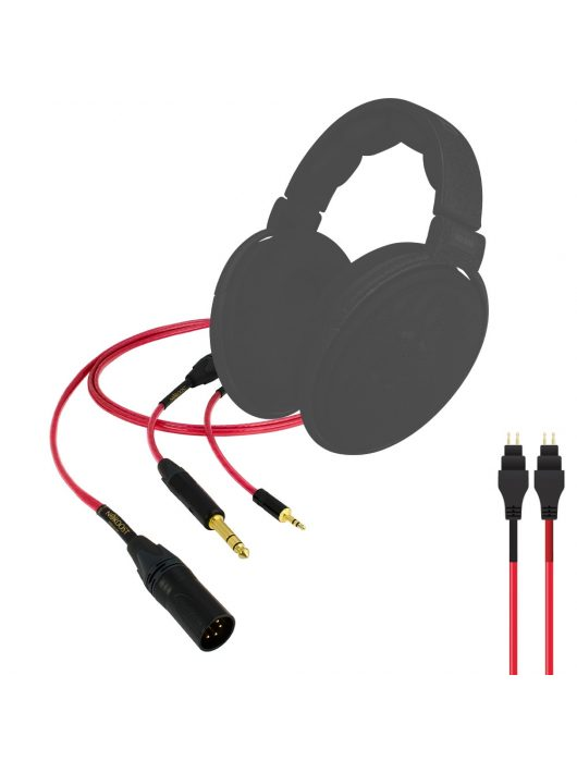 Nordost Heimdall 2 fejhallgató kábel /Sennheiser  HD 650, HD 600/