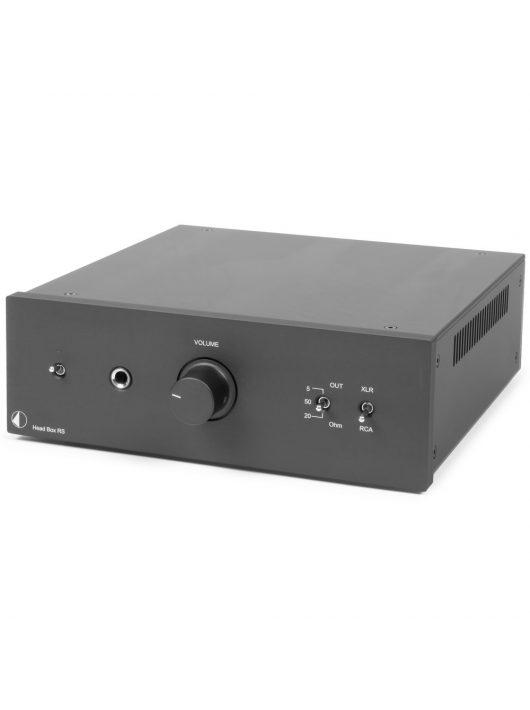 Pro-Ject Head Box RS fejhallgató erősítő, fekete