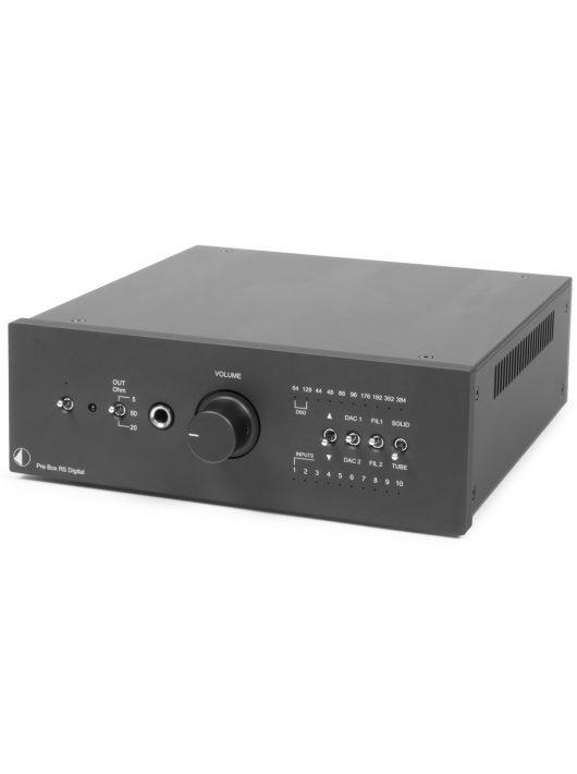 Pro-Ject Pre Box RS Digital, fekete