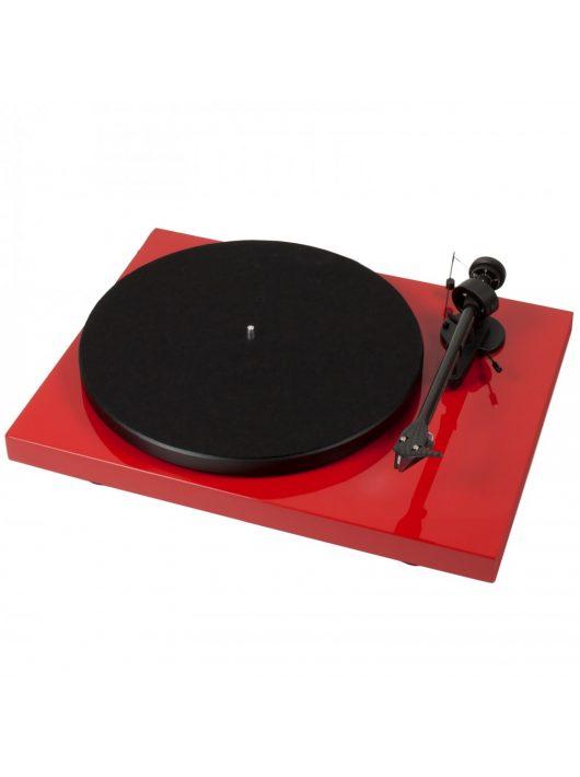 Pro-Ject Debut Carbon DC lemezjátszó /Ortofon 2M-Red/ -Piros -