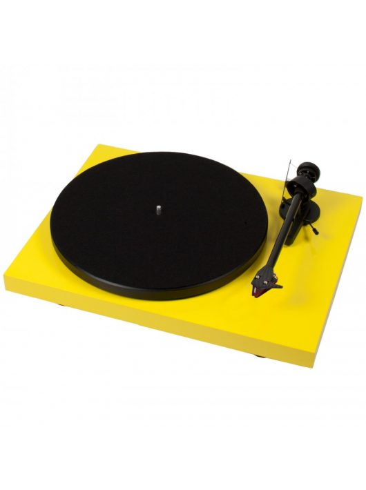 Pro-Ject Debut Carbon DC lemezjátszó /Ortofon 2M-Red/ -Sárga -