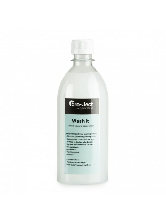 Pro-Ject Wash it mosókoncentrátum VC-S és VC-E lemezmosóhoz, 500 ml