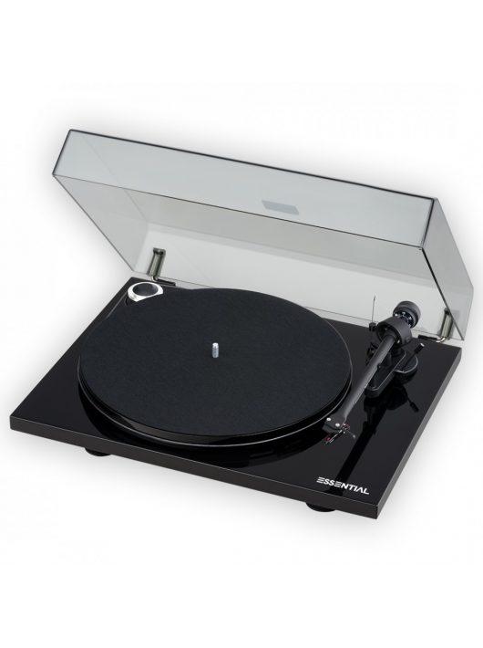 Pro-Ject Essential III analóg lemezjátszó /lakk fekete/